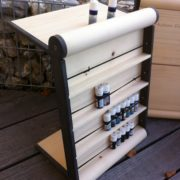 petit meuble pour ranger toutes vos huiles essentielles d'arolle, de pin, ou votre pharmacie naturophathe